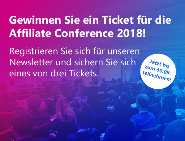 Affiliate Ticket Aktion