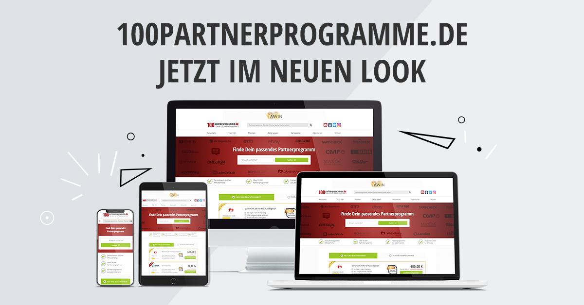 100 Partnerprogramme