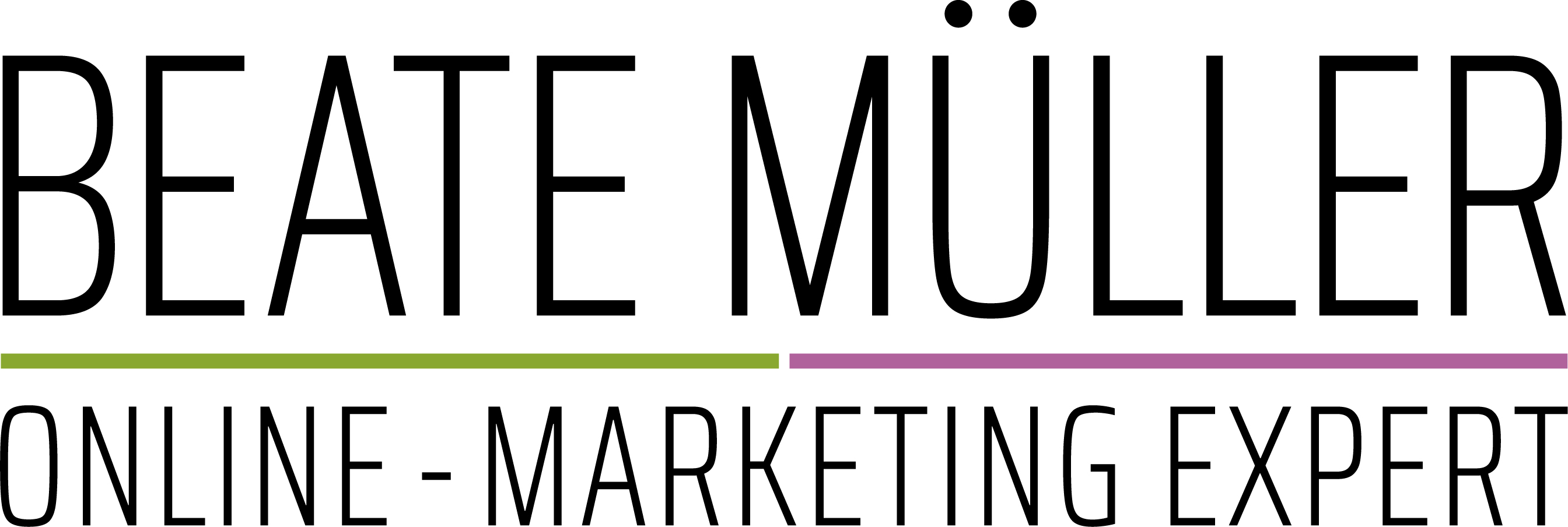 Beate Müller - Online-Marketing Expert Logo