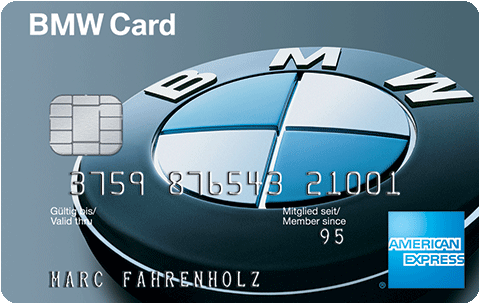 American Express BMW Card Partnerprogramm